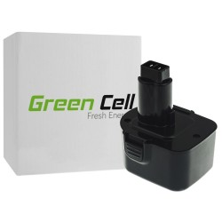 Bateria Akumulator Green Cell do Black & Decker PS130 A9252 12V 1.5Ah