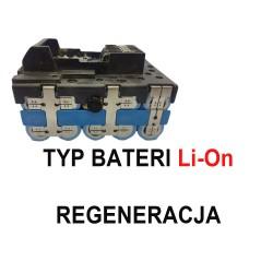 Regeneracja baterii LI-ION wkrętarek wkrętarka MAKITA, MAKTEC. MILWAUKEE, AEG, DOLMAR, DEWALT 12v 14v 18v