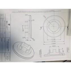 Guzik przycisk Przełącznik do DMG 600v frezarka