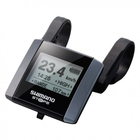 Wyświetlacz  shimano STEPS SC-E6000 Ob. 25.4mm + 31.8mm lcd