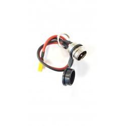 Gniazdo wtyk 3 PIN rower elektryczny hulajnoga